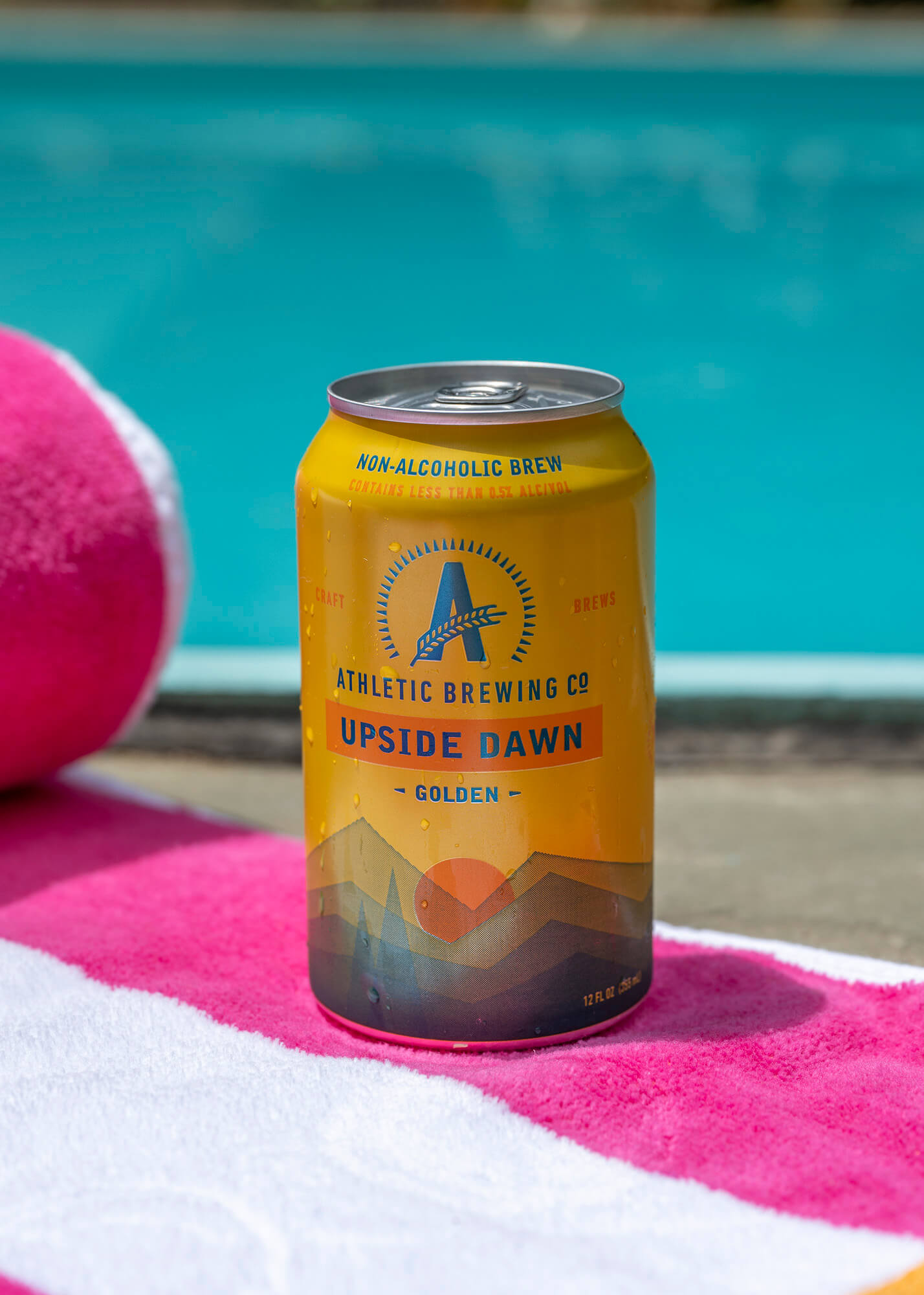 Athletic Brewing Company Upside Down Golden Ale