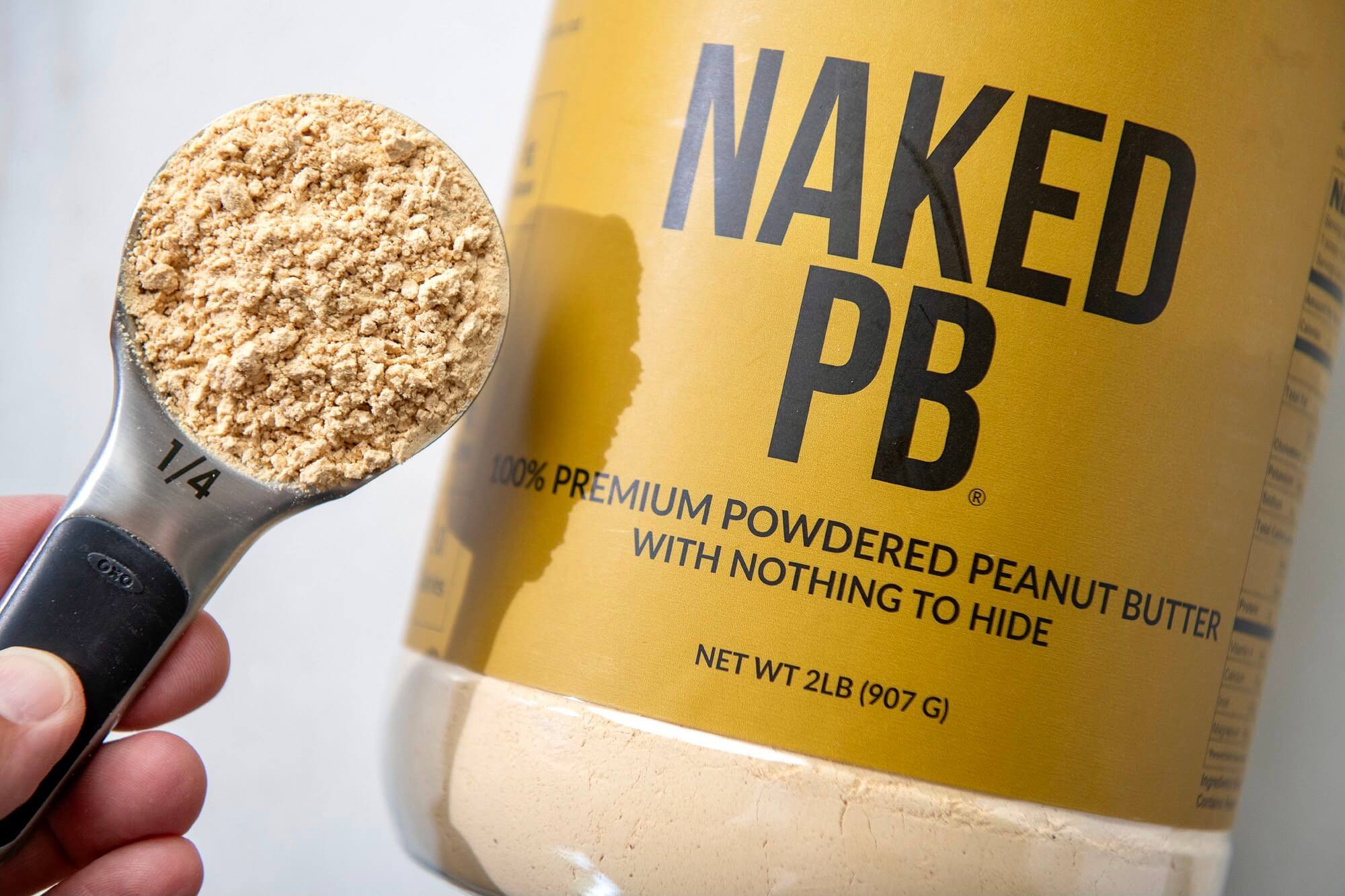 Peanut butter powder offers an excellent alternative to the usual protein powders.
