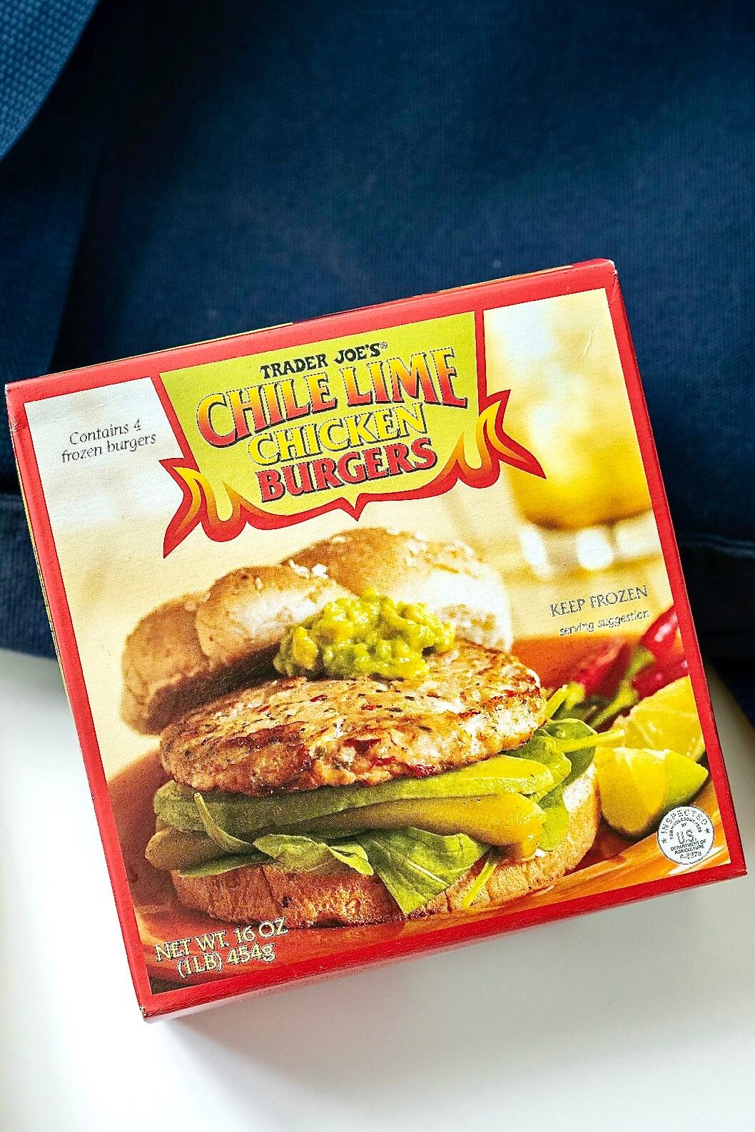 Trader Joe's Chili Lime Burgers