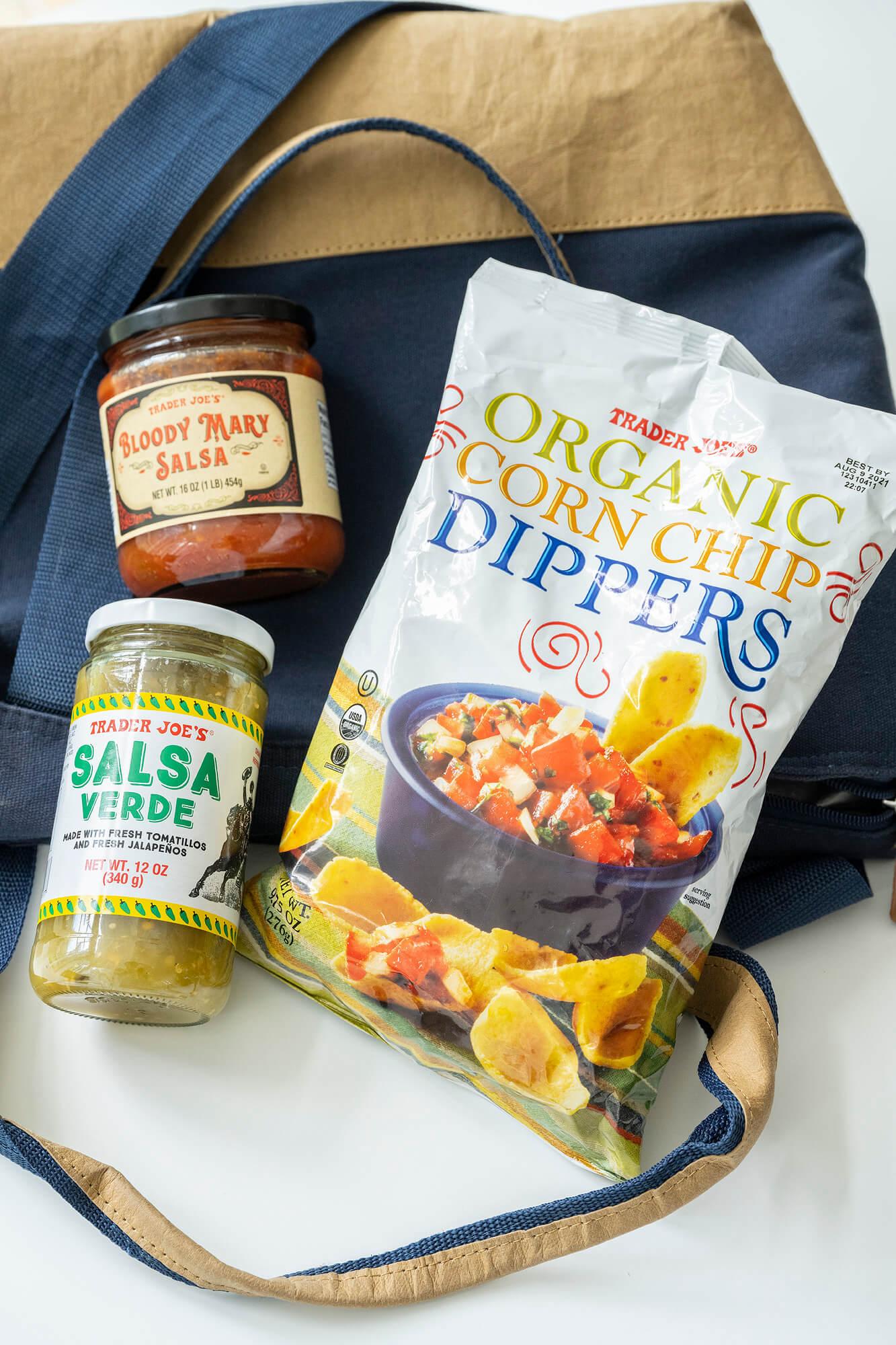 Trader Joe's Salsa and Corn Chip Dippers