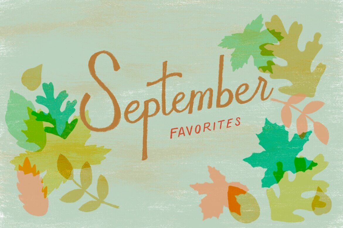 While we're in a seasonal limbo between summer and fall, this Favorite Things offers a bit of this and a bit of that.