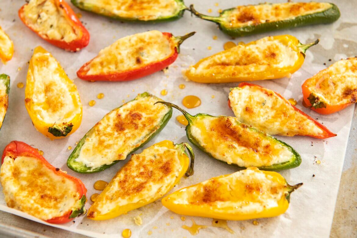 A flavor-packed appetizer that can also be served as a tasty side dish, these 3-ingredient bites take minutes to assemble before baking to golden, cheesy perfection. An optional fourth ingredient offers a spicy-sweet variation!